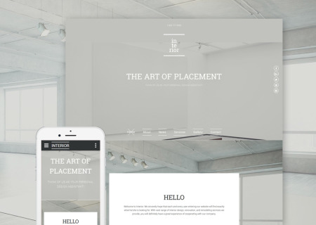 Interior & Furniture Responsive