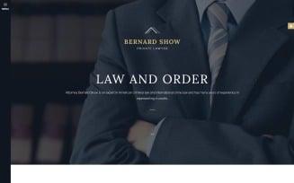 Lawyer Joomla Template