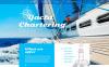 Modello Siti Web Responsive #57992 per Un Sito di Yachting New Screenshots BIG