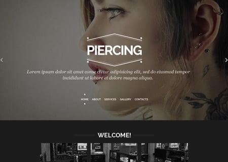 Piercing Shop Responsive