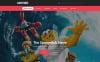 Plantilla Web para Sitio de Cine New Screenshots BIG