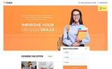 Plantilla Web para Sitio de Escuelas de idiomas