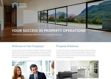 Property Management Responsive
