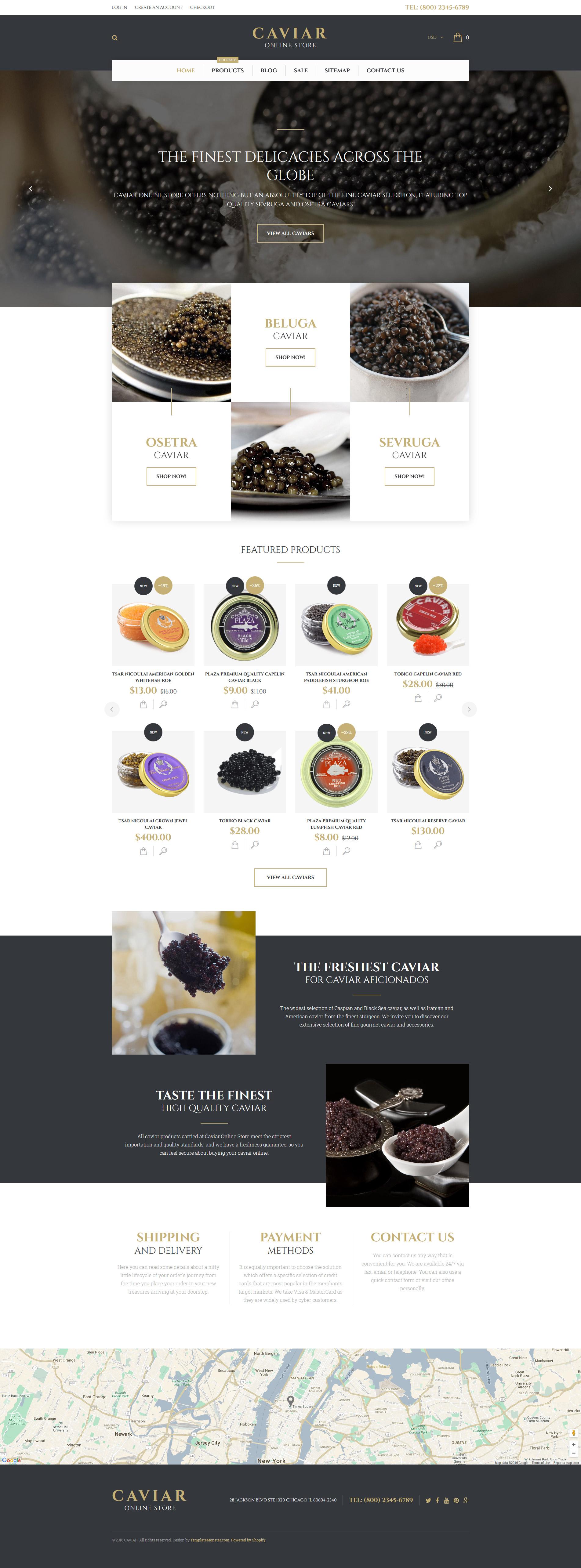 Responsive Caviar Shopify #57967