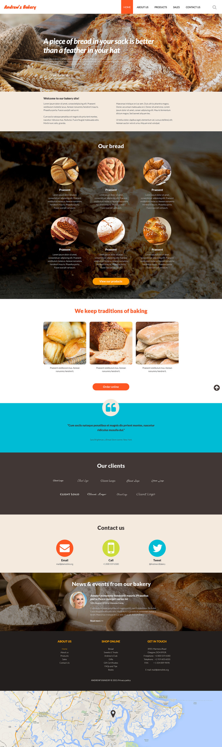 Responsive Website Template New Screenshots BIG