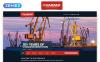 Reszponzív Mariner - Construction Company Clean Responsive HTML Weboldal sablon Nagy méretű képernyőkép
