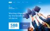 Template Web Flexível para Sites de Universidades №57990 New Screenshots BIG