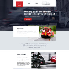 21 best trucking website templates