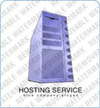 Web Hosting Logo  Template 5821