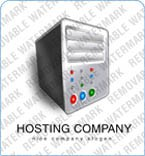 Web Hosting Logo  Template 5840