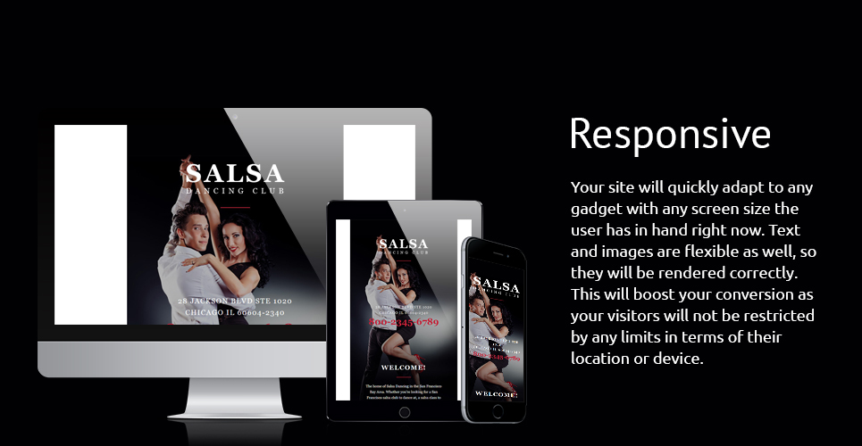 Salsa Dancing  Responsive Newsletter Template