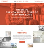 Real Estate Website  Template 58002