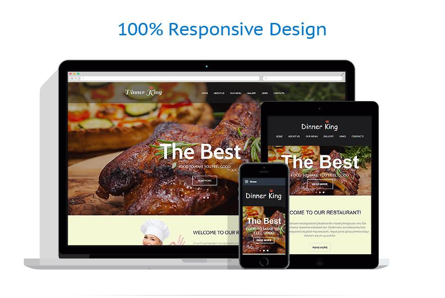 Modèles HTML5 Café et Restaurant #58004