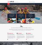Sport Website  Template 58006