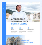 Furniture Landing Page  Template 58008