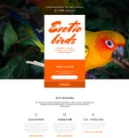 Animals & Pets Landing Page  Template 58015