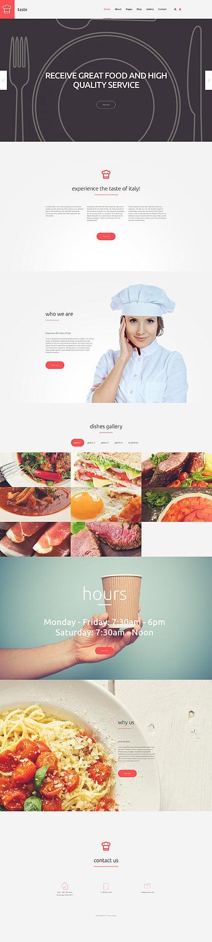 Joomla Theme/Template 58019 Main Page Screenshot