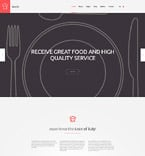 Food & Drink Joomla  Template 58019
