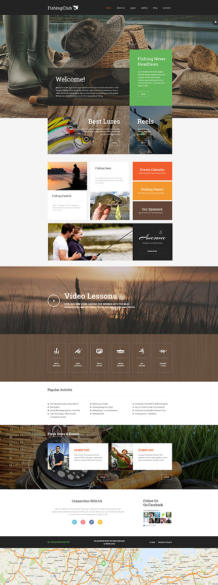 Joomla Theme/Template 58020 Main Page Screenshot