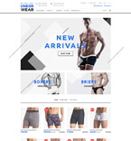 Fashion OpenCart  Template 58025