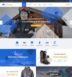 Sport Shopify Template 58030