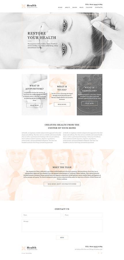 Joomla Theme/Template 58044 Main Page Screenshot