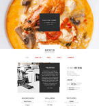 Cafe & Restaurant Muse  Template 58045