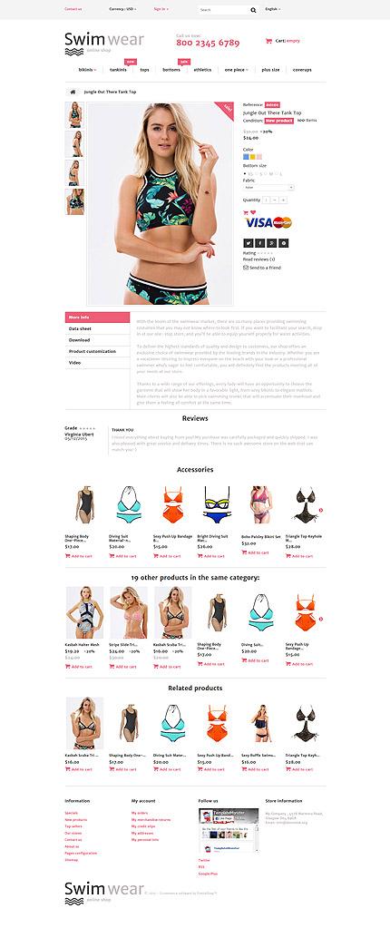 ADOBE Photoshop Template 58048 Home Page Screenshot
