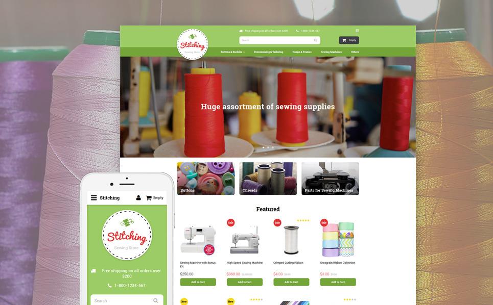 Responsywny szablon OpenCart #58054 na temat: rzemieślnictwo New Screenshots BIG