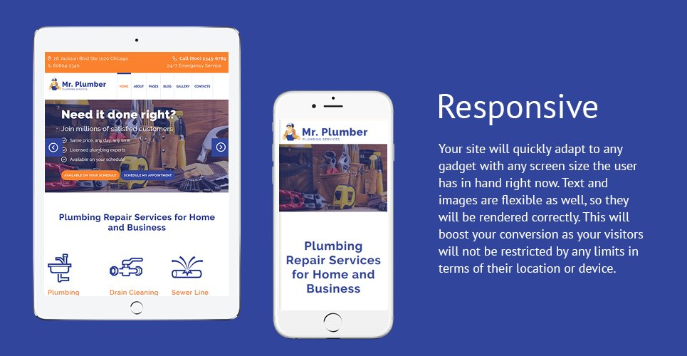 Mr. Plumber Joomla Template