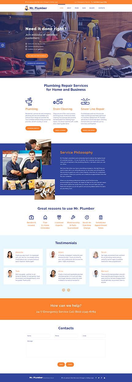 Joomla Theme/Template 58061 Main Page Screenshot
