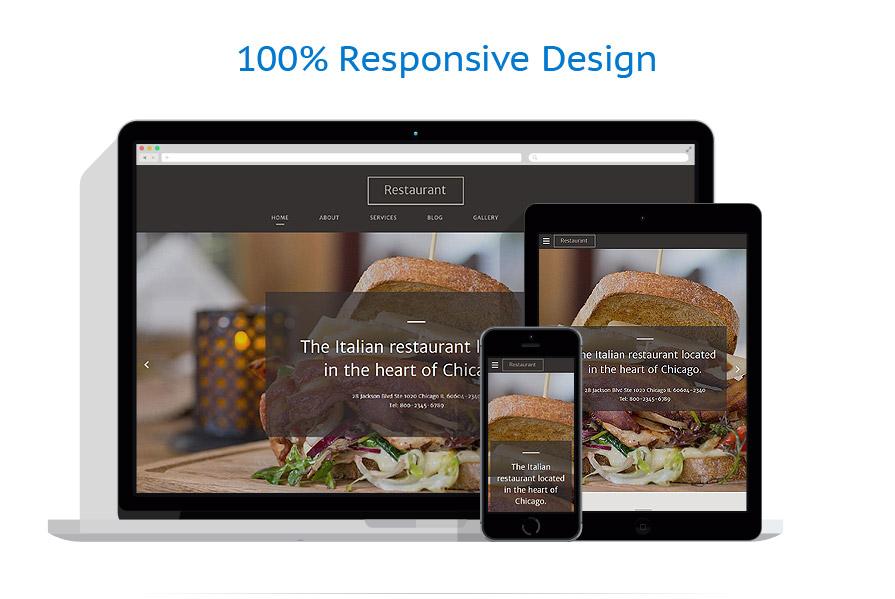 Modèles HTML5 Café et Restaurant #58062