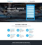 Cars Landing Page  Template 58068