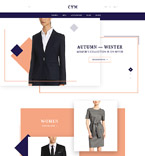 Fashion OpenCart  Template 58069