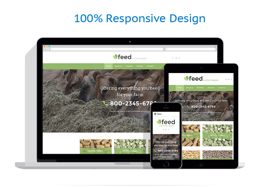 Modèles HTML5 Agriculture #58074