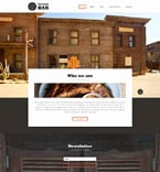 Cafe & Restaurant Website  Template 58075
