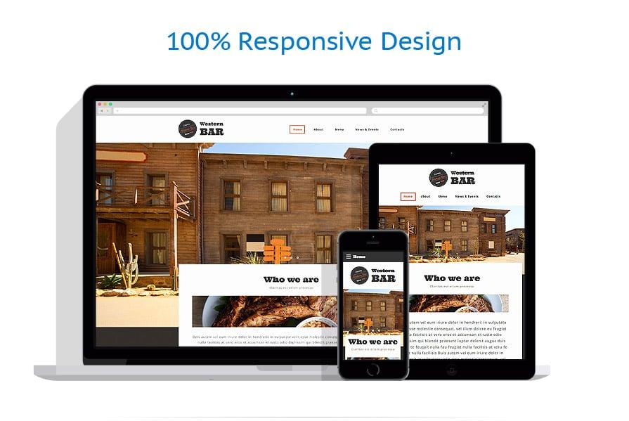 Modèles HTML5 Café et Restaurant #58075