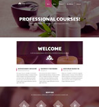 Beauty Website  Template 58076