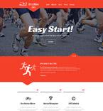 Sport Website  Template 58077