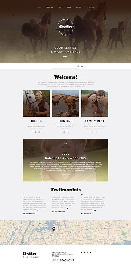 Joomla Theme/Template 58082 Main Page Screenshot