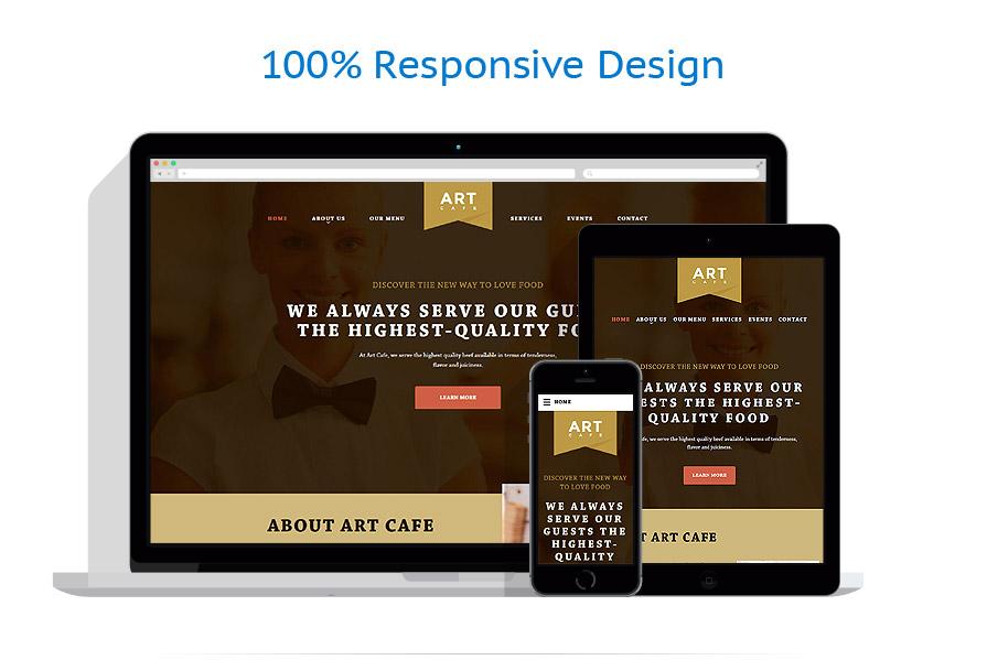 Modèles HTML5 Café et Restaurant #58085
