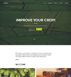 Agriculture Website  Template 58086