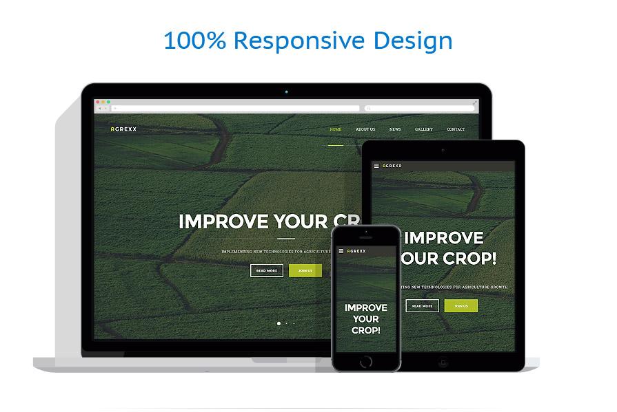 Modèles HTML5 Agriculture #58086