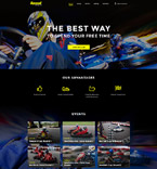 Sport Website  Template 58089