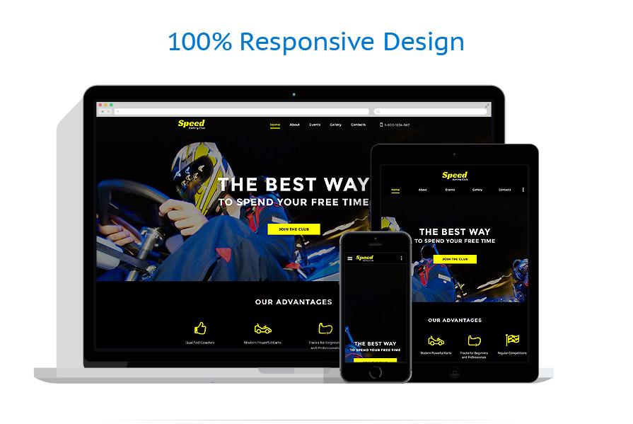 Modèles HTML5 Sport #58089