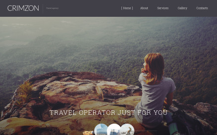 Crimzon Website Template