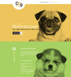Animals & Pets Landing Page  Template 58095