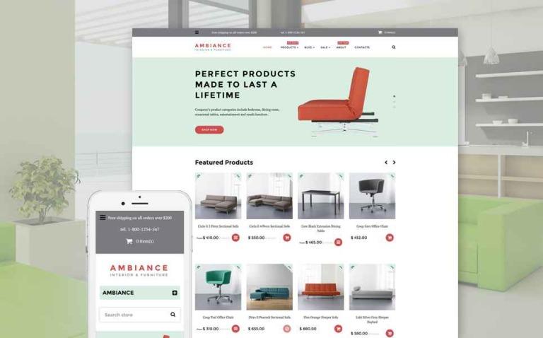 Ambiance Shopify Theme New Screenshots BIG