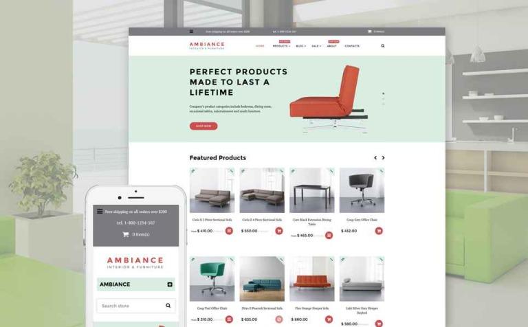 Ambiance Shopify Theme