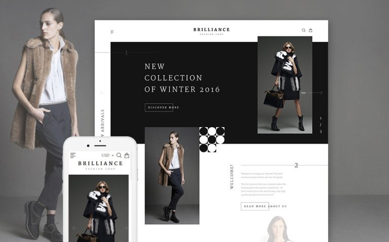 Brilliance Shopify Theme New Screenshots BIG